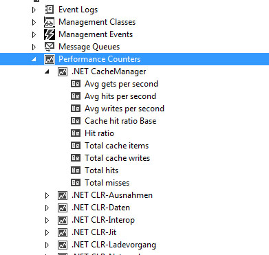 Performance Counters in Server Explorer